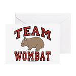 Team Wombat III Greeting Cards (Pk of 20)