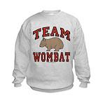 Team Wombat III Kids Sweatshirt