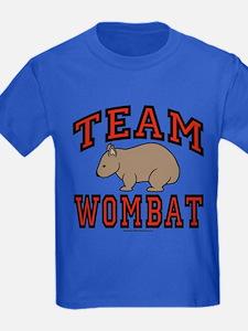 Team Wombat III Kids Dark Colored T-Shirt