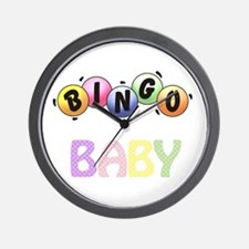 BINGO Baby! Wall Clock