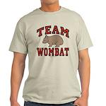 Team Wombat III Light Colored T-Shirt