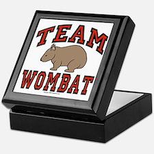 Team Wombat III Keepsake Box