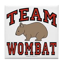 Team Wombat III Tile Coaster