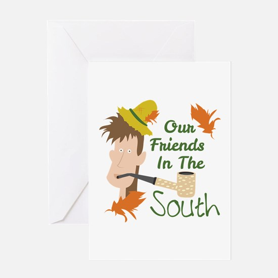 Friends In The South Greeting Cards