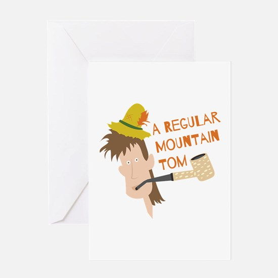 Mountain Tom Greeting Cards