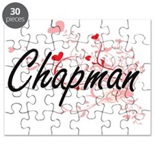 Chapman Artistic Design with Hearts Puzzle