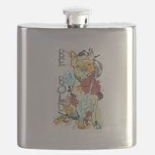 Be Bold Pitbull Flask