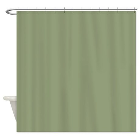 Delightful Ancient Moss Shower Curtain
