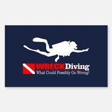 Wreck Diving 2 Decal