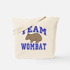 Team Wombat II Tote Bag