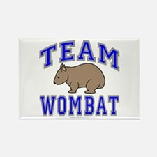 Team Wombat II Rectangle Magnet