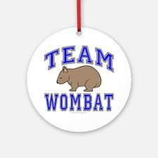 Team Wombat II Ornament (Round)