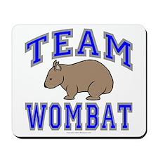 Team Wombat II Mousepad