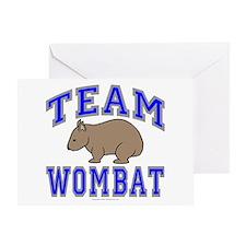 Team Wombat II Greeting Card