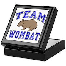 Team Wombat II Keepsake Box