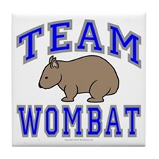 Team Wombat II Tile Coaster