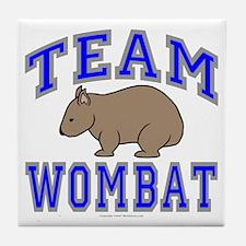 Team Wombat II Tile Coaster
