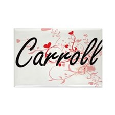 Carroll Artistic Design with Hearts Magnets