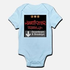 Hoodister Brooklyn Janis red black Body Suit