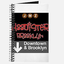 Hoodister Brooklyn Janis red black Journal