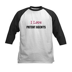 I Love PATENT AGENTS Kids Baseball Jersey