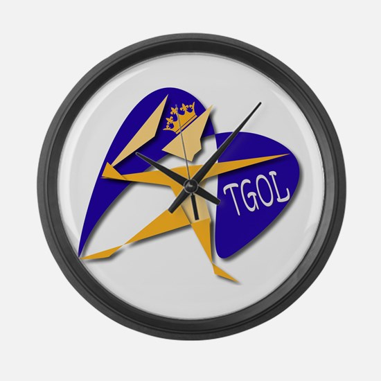 TGOL ( THE GOAL OF LIFE) Large Wall Clock