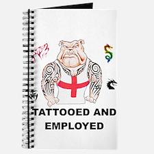 Tattooed and Employed English Bulldog Journal