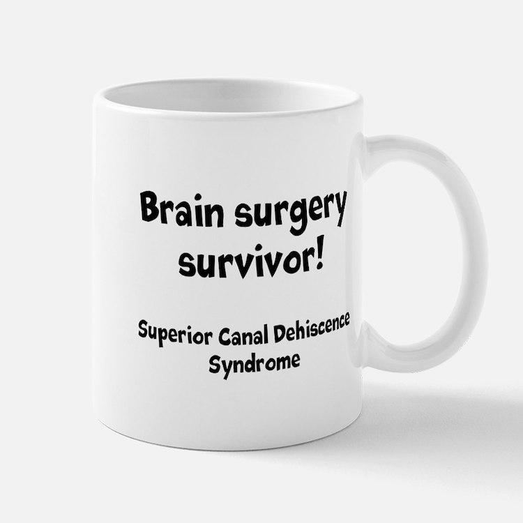 Brain Surgery Survivor Mugs