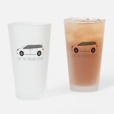 The Minivan Drinking Glass