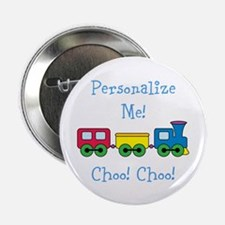 """Choo Choo Train 2.25"""" Button (100 pack)"""