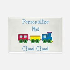 Choo Choo Train Rectangle Magnet