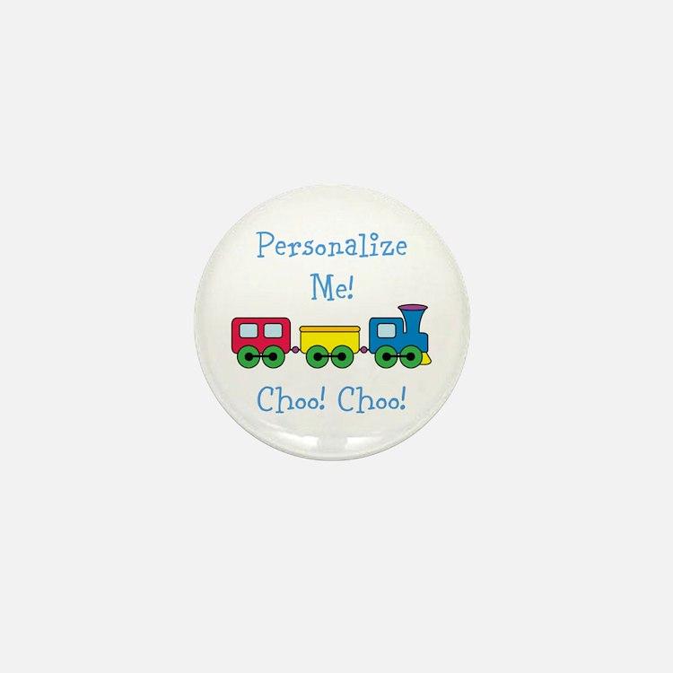 Choo Choo Train Mini Button (100 pack)