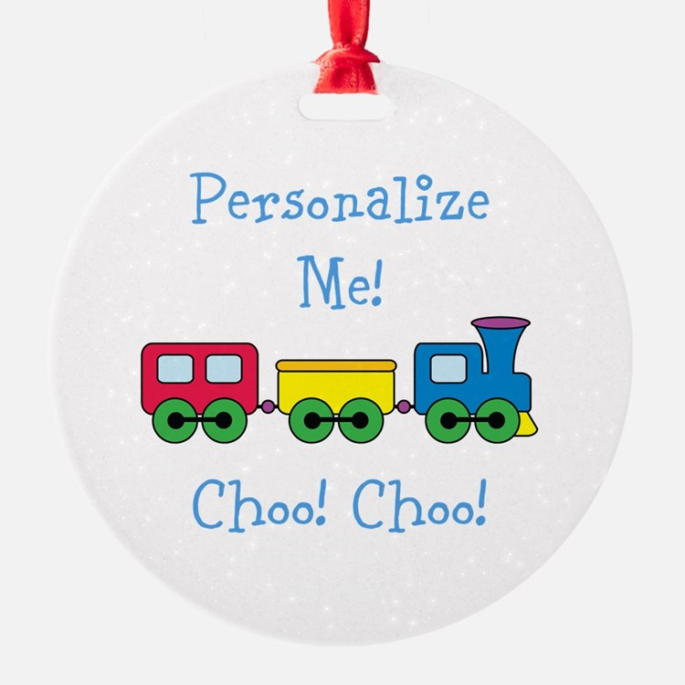 Choo Choo Train Ornament
