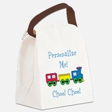 Choo Choo Train Canvas Lunch Bag