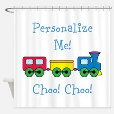 Choo Choo Train Shower Curtain