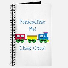 Choo Choo Train Journal