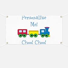 Choo Choo Train Banner