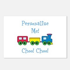 Choo Choo Train Postcards (Package of 8)