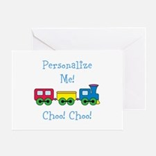 Choo Choo Train Greeting Card