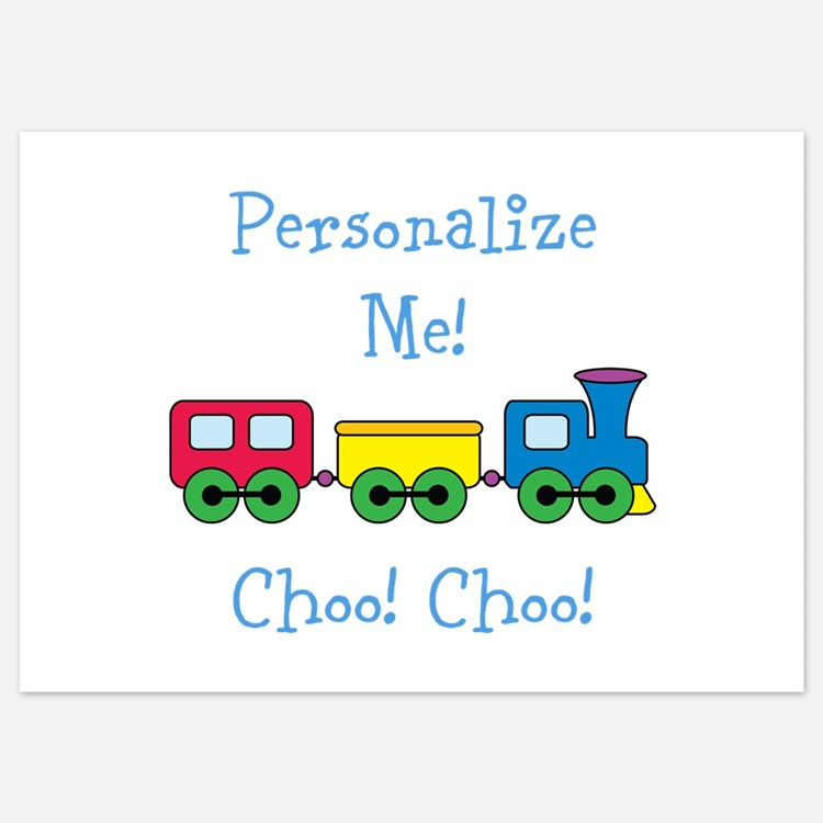 Choo Choo Train Invitations