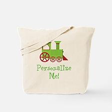 Custom Train Tote Bag