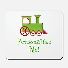 Custom Train Mousepad