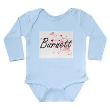 Burnett Artistic Design with Hearts Body Suit