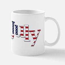 July Flag Mugs