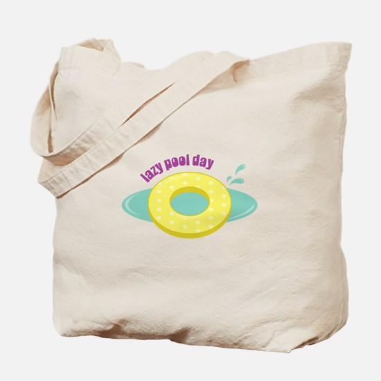 Lazy Pool Day Tote Bag