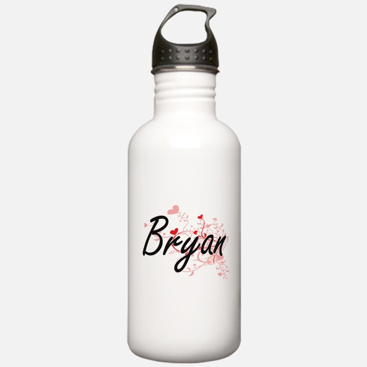 Bryan Artistic Design Water Bottle