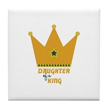 Daughter of a King Tile Coaster