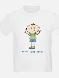 Stick Figure Boy T-Shirt
