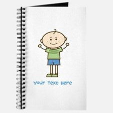 Stick Figure Boy Journal