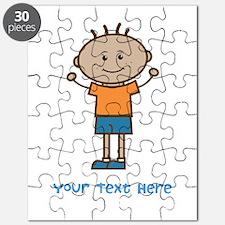 Stick Figure Boy Puzzle